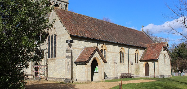 Exbury Parish Church.