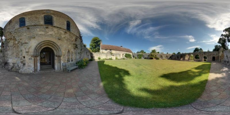 Cloisters Panorama