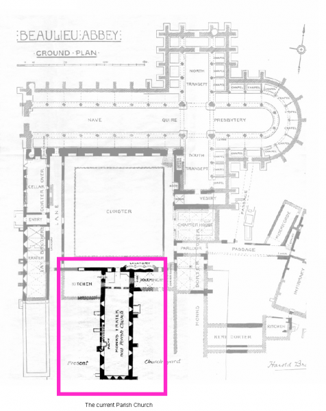 Abbey plan
