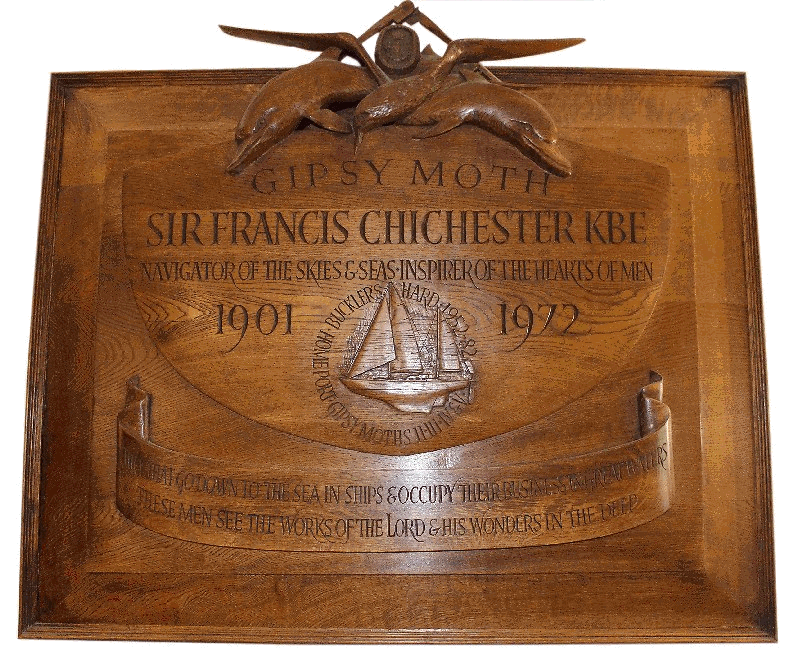 Chichester plaque
