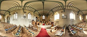 Exbury Church Panorama